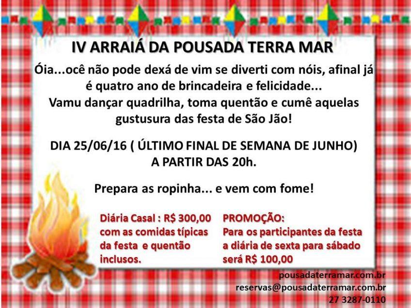 Compareçam à nossa Festa Junina!
