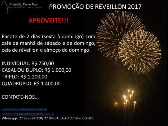 PROMOÇÃO DE RÉVEILLON 2017!